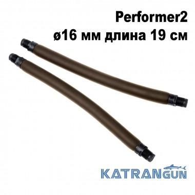 Тяги для арбалета парні Omer Performer2 ø16 мм довжина 19 см; різьбовий зачеп 16 мм