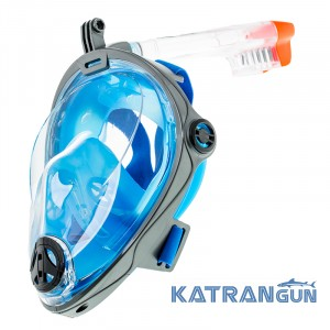 Полнолицевая маска для снорклинга Marlin Vision + GoPro