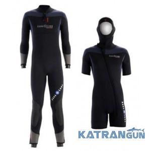Чоловічий гідрокостюм Aqua Lung Balance Comfort 7 + 5 mm (SET)