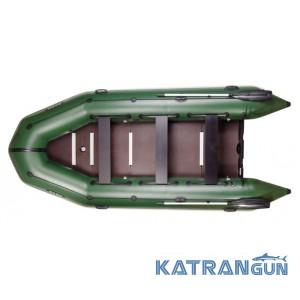Надувний кільовий моторний човен Bark ВТ-420S