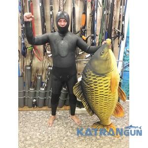 Голый зимний гидрокостюм KatranGun Hunter Yamamoto 45; 10 мм; гладкий/открытая пора