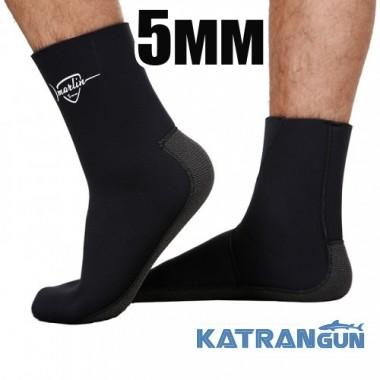 Неопреновие шкарпетки для підводного полювання Marlin Anatomic Kevlar