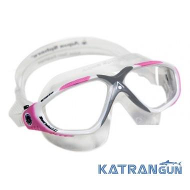Очки для плавания женские Aqua Sphere Vista Lady, линзы прозрачные