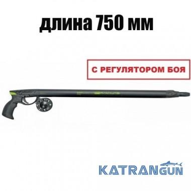 Пневмовакуумное подводное ружьё Salvimar Predathor Vuoto 75 (с регулятором)