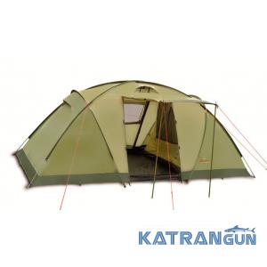 Хорошая кемпинговая палатка Pinguin Base Camp 4