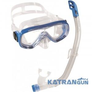 Детский набор для подводного плавания Cressi Sub Ondina Vip; синий