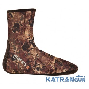 Гидроноски Mares Camo Brown 3 mm