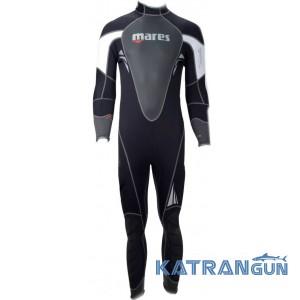 Мужской гидрокостюм для дайвинга Mares Reef 3 мм