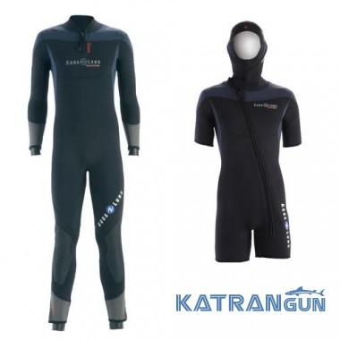 Чоловічий гідрокостюм для дайвінгу AquaLung Balance Comfort 5 + 5 мм Set