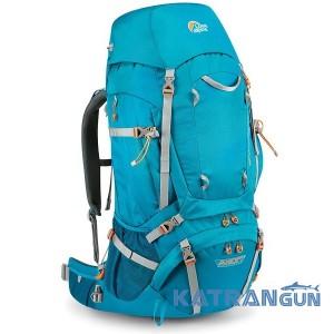 Туристический женский рюкзак Lowe Alpine Diran ND 65:75 Sea Blue