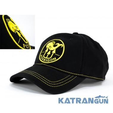 Фирменная кепка для дайвера Poseidon Yellow Lines