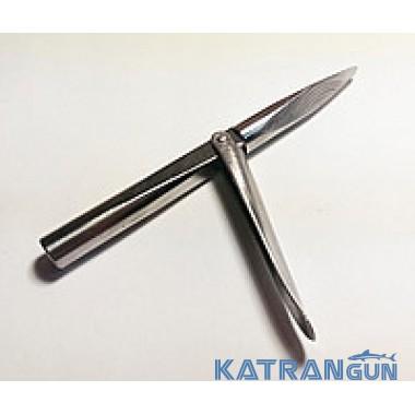 Накінечники для подводных ружей Katrangun Pro, трёхгранный, удлинённая голова, 1 флажок