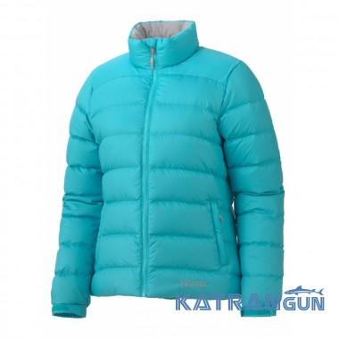 Легкий женский пуховик Marmot Women's Guides Down Sweater, Sky