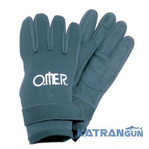 Неопренові рукавички для плавання Omer Brasil 3 мм