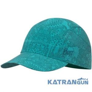 Кепка для бігу BUFF Pack Trec Cap Acer Turquoise