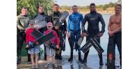 Нові рекорди в клубі підводного плавання Katrangundnepr