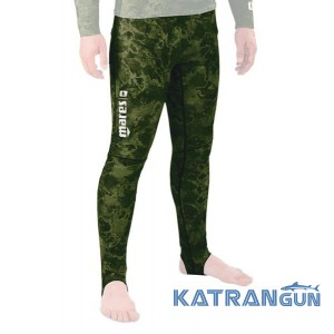 Лайкрові камуфляжні штани Mares Rash Guard Camo Green