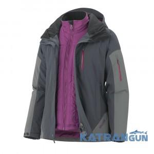 Мембранная куртка для любой погоды Marmot Wm's Tamarack Component Jacket, Dark Steel/Gargoyle