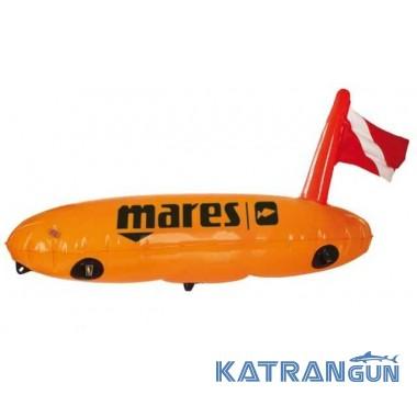 Буй для подвоха Mares TORPEDO с держателями снаряжения