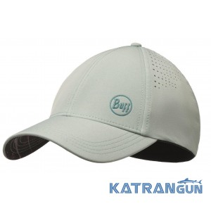 Легкая женская кепка Buff Trek Cap collage aqua