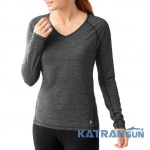 Быстросохнущая термокофта женская Smartwool Women's PHD Ultra Light Long Sleeve