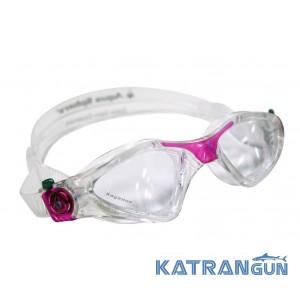 Очки для плавания женские Aqua Sphere Kayenne Lady; линзы прозрачные