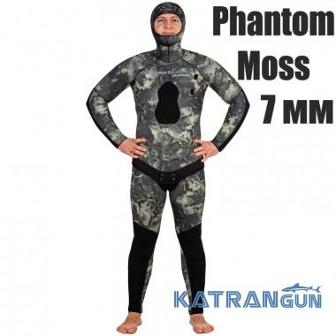Камуфляжный гидрокостюм Marlin Phantom Moss 7 мм