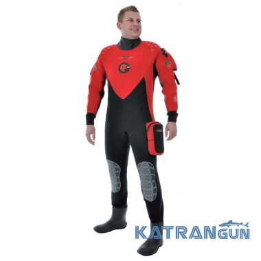 Мужской гидрокостюм для дайвинга N.Diver Voyager