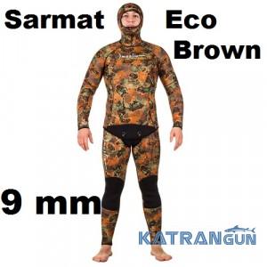 Гидрокостюм Marlin Sarmat Eco Brown 9 мм
