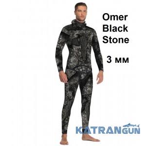 Гидрокостюм Omer Black Stone 3 мм