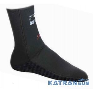 Неопренові шкарпетки для підводного полювання BS Diver Ultrablack 7 мм