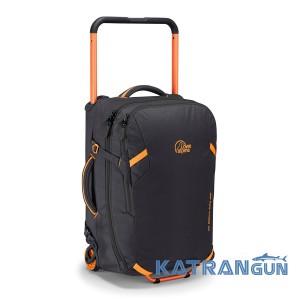 Сумка чемодан на колесах Lowe Alpine AT Roll-On 40, Antracite/Tangerine