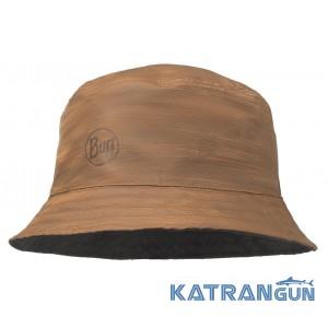 Жіноча двостороння панама BUFF Travel Bucket Hat landscape desert-navy