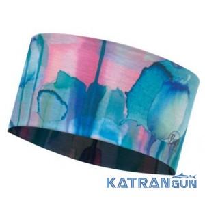 Багатофункціональна пов'язка Buff UV Headband poppis multi