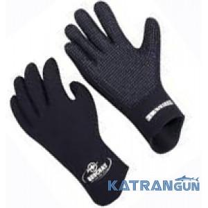 Неопреновые перчатки для подводной охоты Beuchat Gloves Elaskin, 4мм