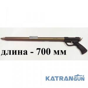Подводное ружьё зелинка для моря Zelinka Techno 700 мм; торцевая рукоять; без регулятора