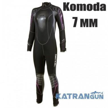Жіночий дайвінговий гідрокостюм Seac Sub Komoda 7 мм