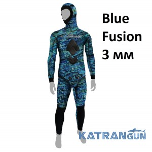 Гидрокостюм для подводной охоты Epsealon Blue Fusion 3 мм