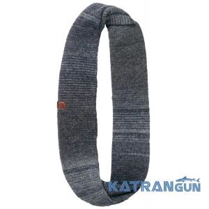 Вовняний шарф снуд Buff Knitted Infinity Liz navy
