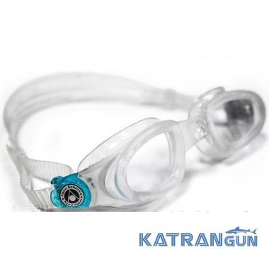 Окуляри для плавання Aqua Sphere Mako, clear lens / transparent