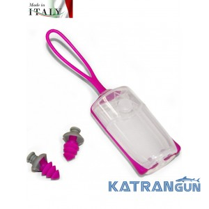 Затиск для носа Aqua Sphere Silicone Nose Clip + беруші Ear Plugs Pink