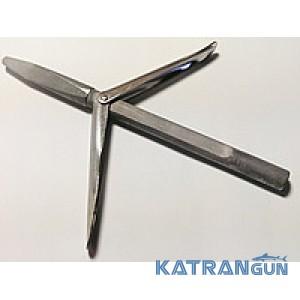 Подводная охота наконечники Katrangun Блатной,  два флажка, удлинённое основание