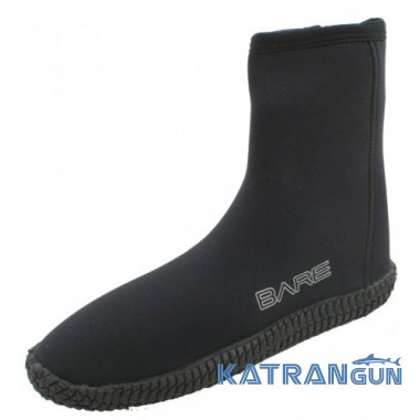 Боты для дайвинга Bare Boots 5 мм