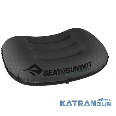 Легкая надувная подушка Sea to Summit Aeros Ultralight Pillow Large Grey