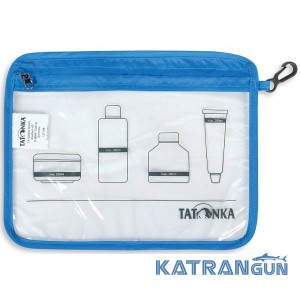 Косметичка в літак Tatonka Zip Flight Bag A5 Transparent