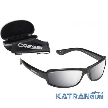 Солнцезащитные очки плавающие Cressi Sub Ninja Floating, зеркальные стёкла