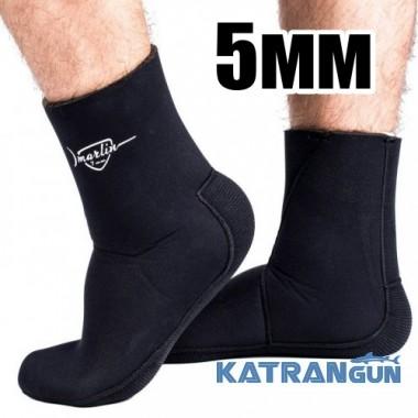 Шкарпетки підводного полювання Marlin Anatomic Duratex, 5 мм
