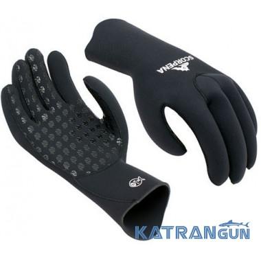 Вибір рукавичок для підводного полювання Scorpena B 5 мм