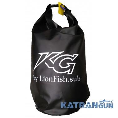 Гермомішок спорядження KatranGun Баул (від LionFish) з плечовим ременем на карабіні, 70л