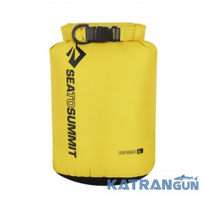 Герметичный водонепроницаемый мешок Sea To Summit Lightweight Dry Sack 4L, Yellow
